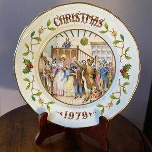 A Christmas Carol by Charles Dickens plate